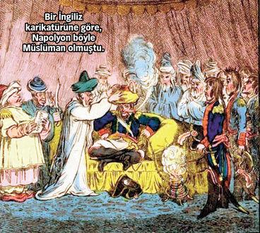 napolyon müslüman oldu mu, napolyon besmele, napolyon misiri nasil isgal etti, oryantalizm, ehli sünneti yikma projesi, ehli sünnet müdafaasi, sadece kuran diyenler, dinde reform karikatür