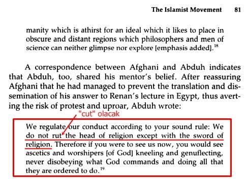 resid riza muhammed abduh cemaleddin afgani dinin basini dinin kiliciyla kesmek modernistler kurancilik sadece kuran diyenler mealcilik, sünneti inkar edenler