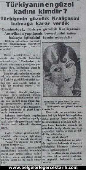 6 Şubat 1929 tarihli Cumhuriyet gazetesi