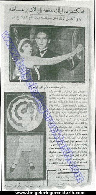"""""""Güzel Bacak"""" yarışması, 6 Eylül 1925 tarihli Cumhuriyet gazetesinde """"Memleketimizde ilk defa yapılan bir müsabaka"""" başlığıyla duyuruldu"""