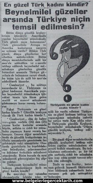 7 Şubat 1929 tarihli Cumhuriyet gazetesi